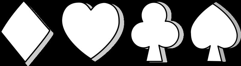 Free symbole carte / card symbol