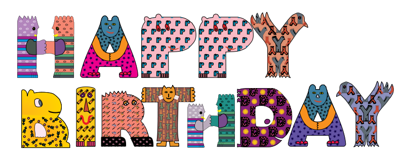 Free Clipart: Happy Birthday | palimpsest