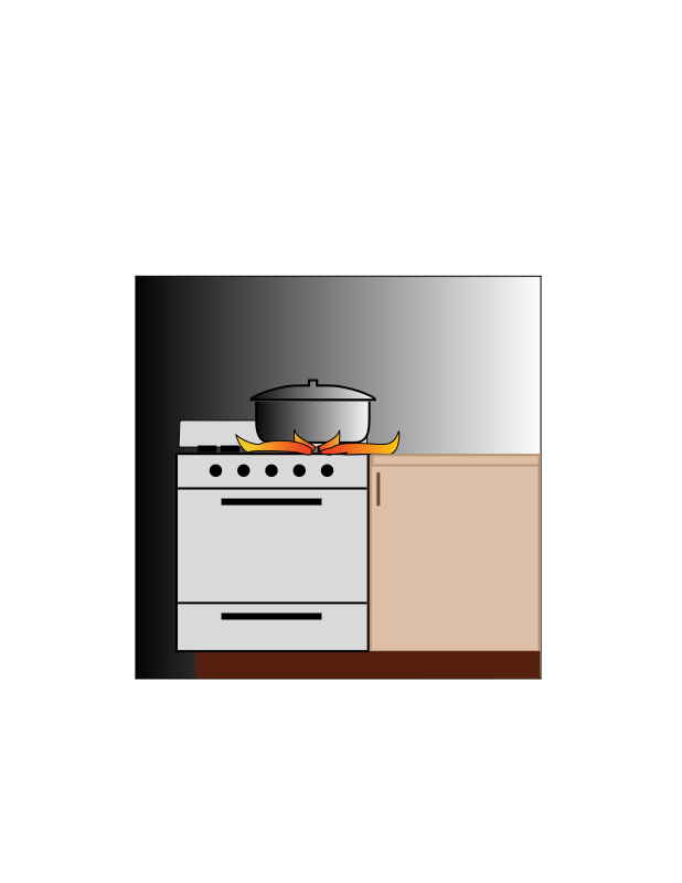 Free Clipart: Pot on stove | palimpsest