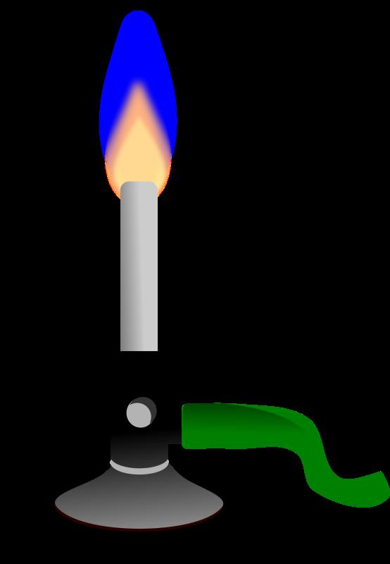 Free Bunsen burner
