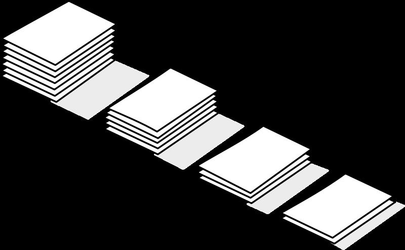 Free piles of paper / piles de papier