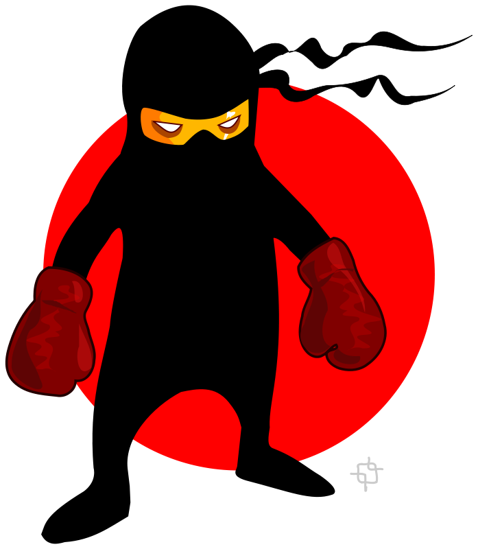 Free ninja boxer