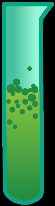 Free Bubbling Test Tube