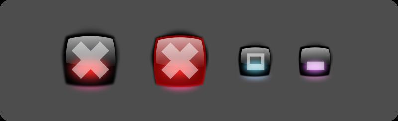 Free Aqua buttons 2