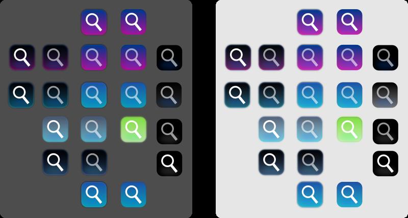 Free aqua buttons