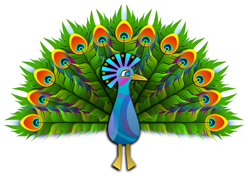 free clipart peacock viscious speed rh 1001freedownloads com free black and white peacock clipart