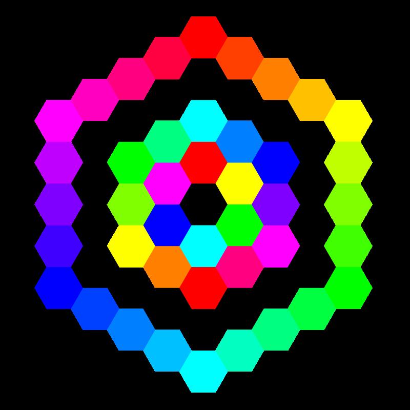 Free hexagon tessellation march 3 2011