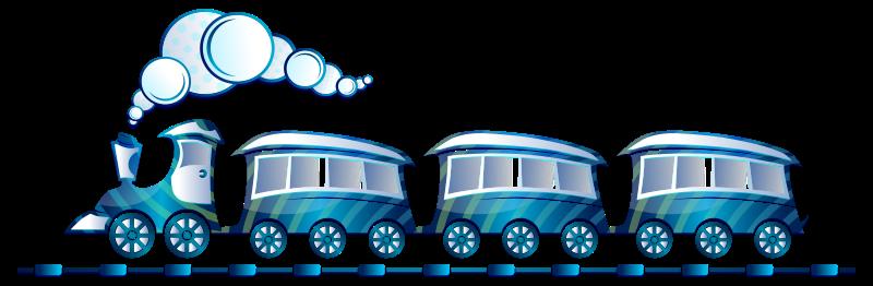 Free Blue Train