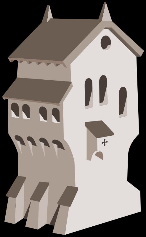 Free medieval building