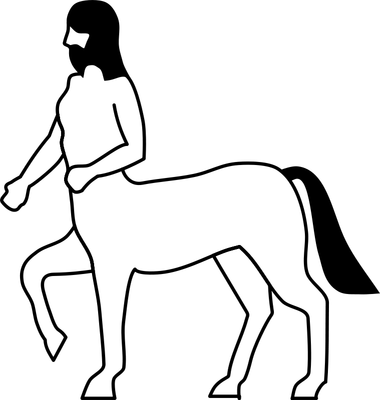 Free Heraldic Centaur