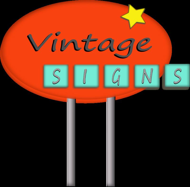 Free Vintage Sign