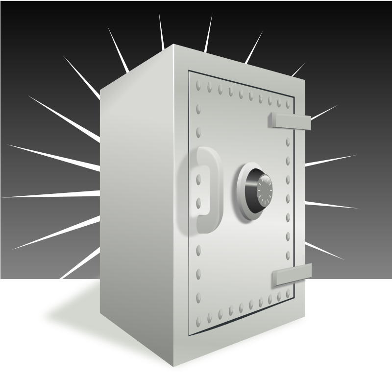 Free safe with background