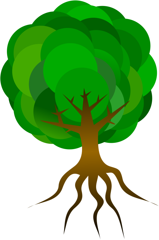 Free Clipart: Simple Tree 1 | Merlin2525