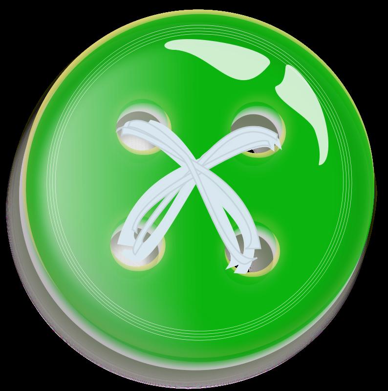 Free Green Button Button