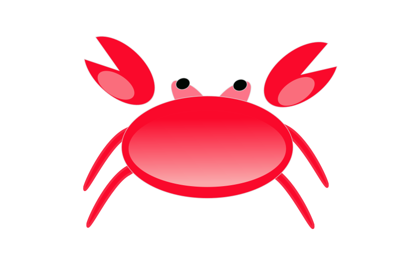Free A red crab2