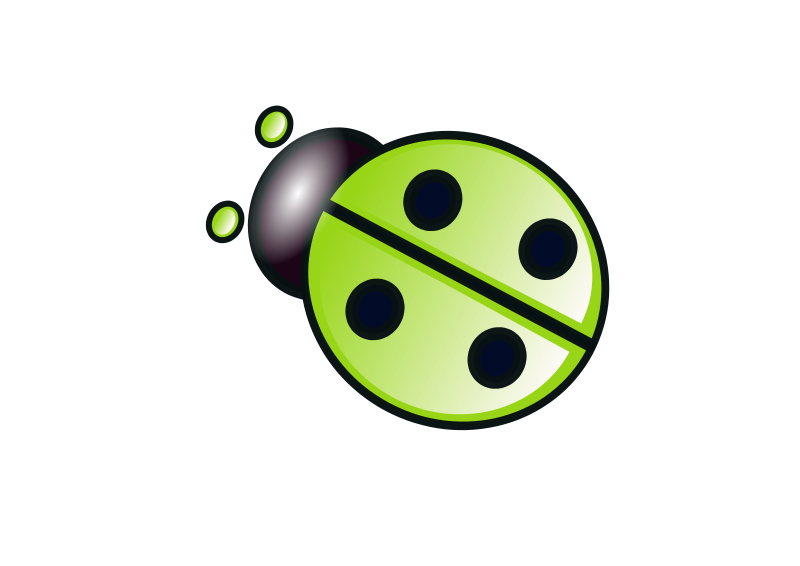 Free Green ladybug