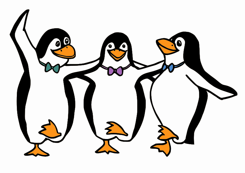 Free Dancing Penguins