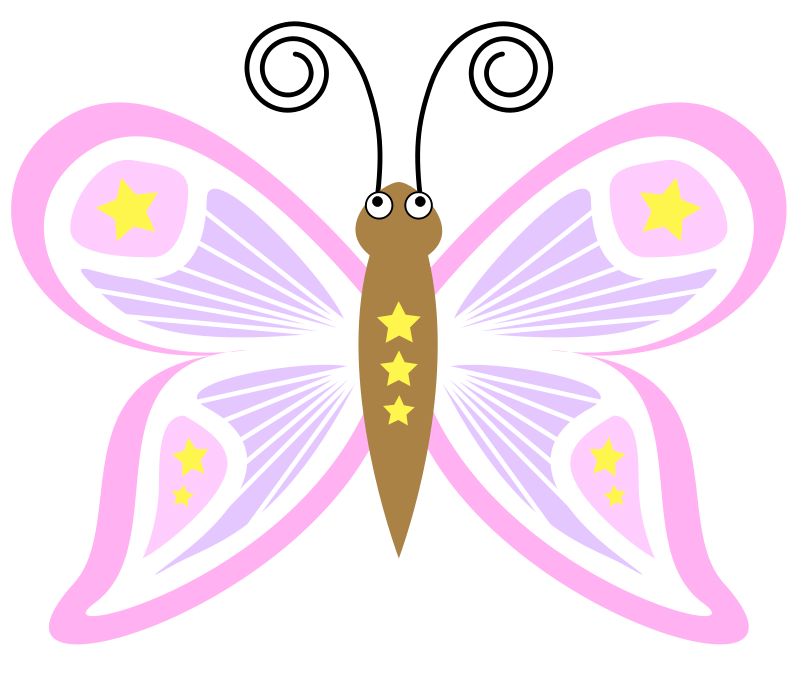 Free cartoon_butterfly_pt5
