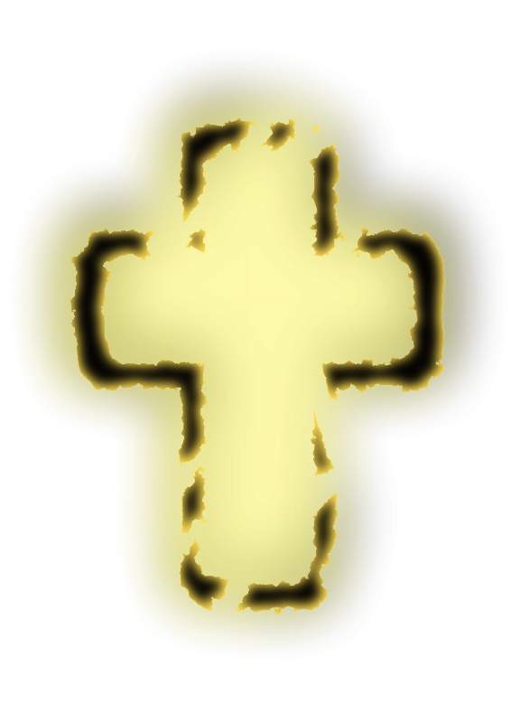 Free Clipart: Glowing cross | fastrider
