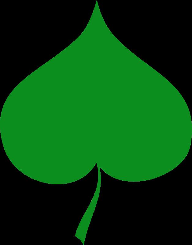Free Spring symbol - Linden leaf