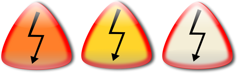 Free Clipart: Electric shock. Choque electrico | Ehecatl1138