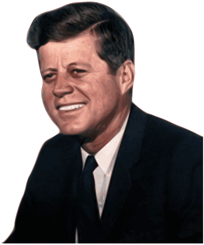 Free John Fitzgerald Kennedy 35th President of the United States