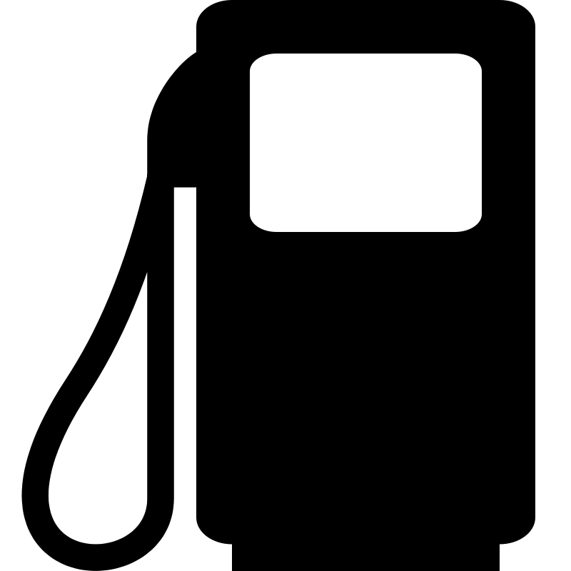 Free pictogram petrol pump