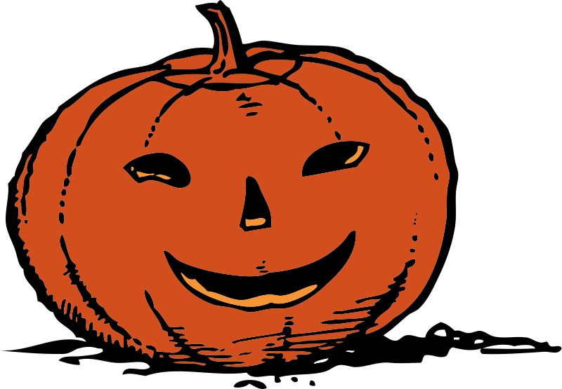 Free smily pumpkin
