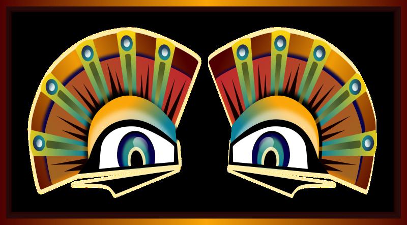 Free Colorful Sphinx Eyes