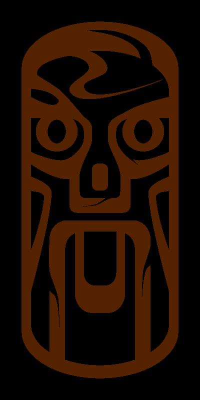 Free Weird Tiki Face