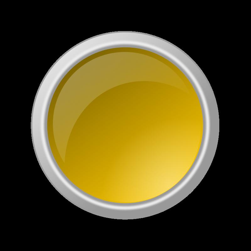 Free glossy yellow button