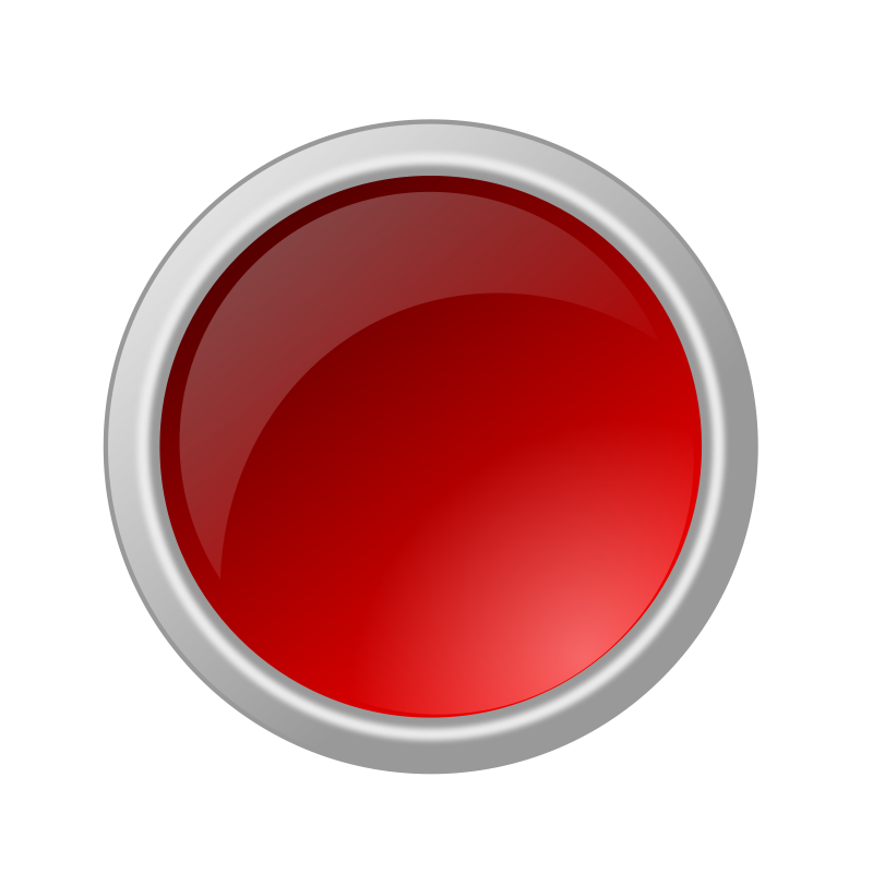 Free glossy red button