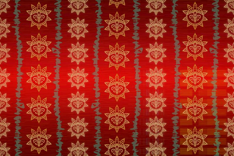 Free Background Patterns - Crimson