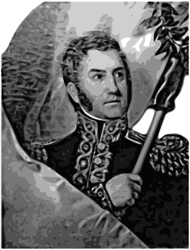 Free José de San Martín 1st President of Peru
