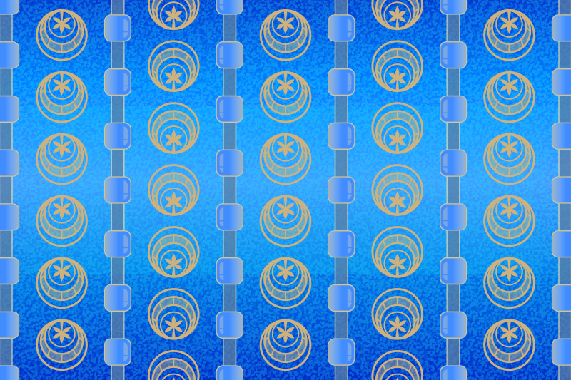 Free Background Patterns - Cerulean