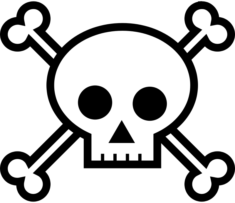 Free Skull and Crossbones