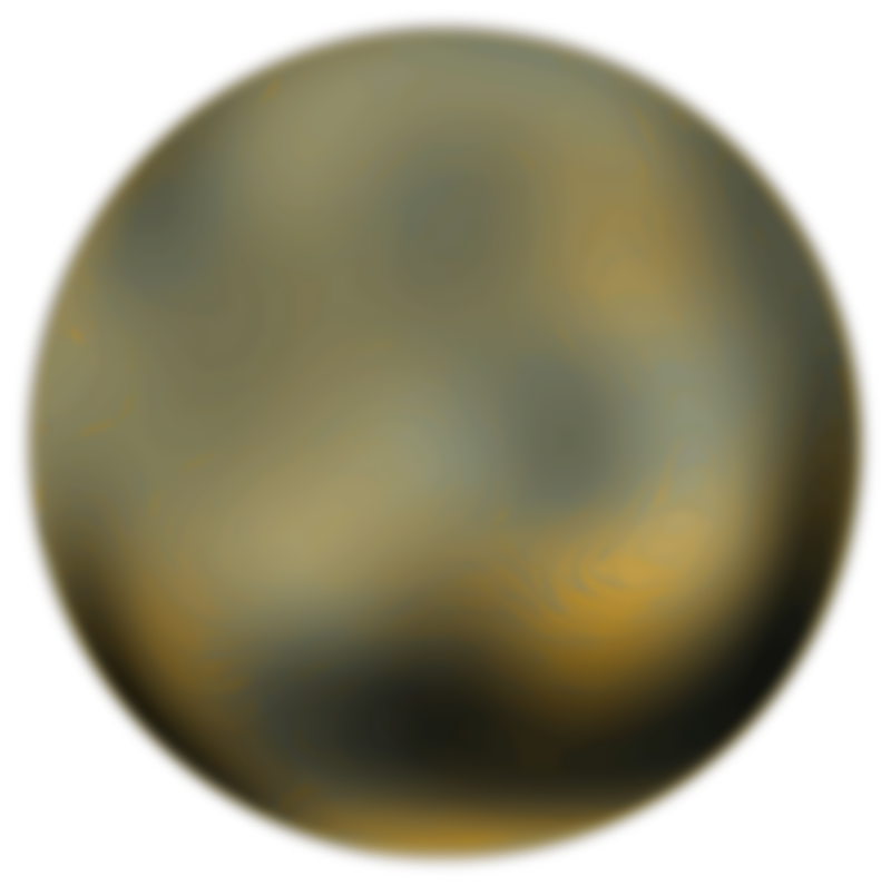 Free Pluto 270 Degree Face From Hubble Telescope