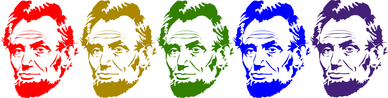 Free Clipart: Rainbow Lincoln | j4p4n