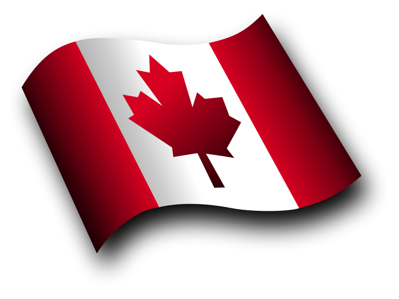 Free Clipart: Canadian Flag 3 | Merlin2525