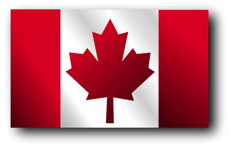 Free Clipart: Canadian Flag 2 | Merlin2525
