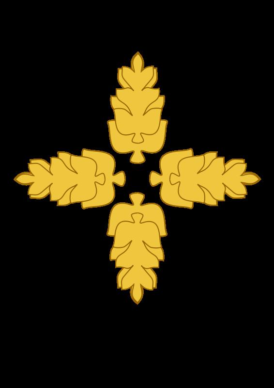 Free Golden Wheat Medallion