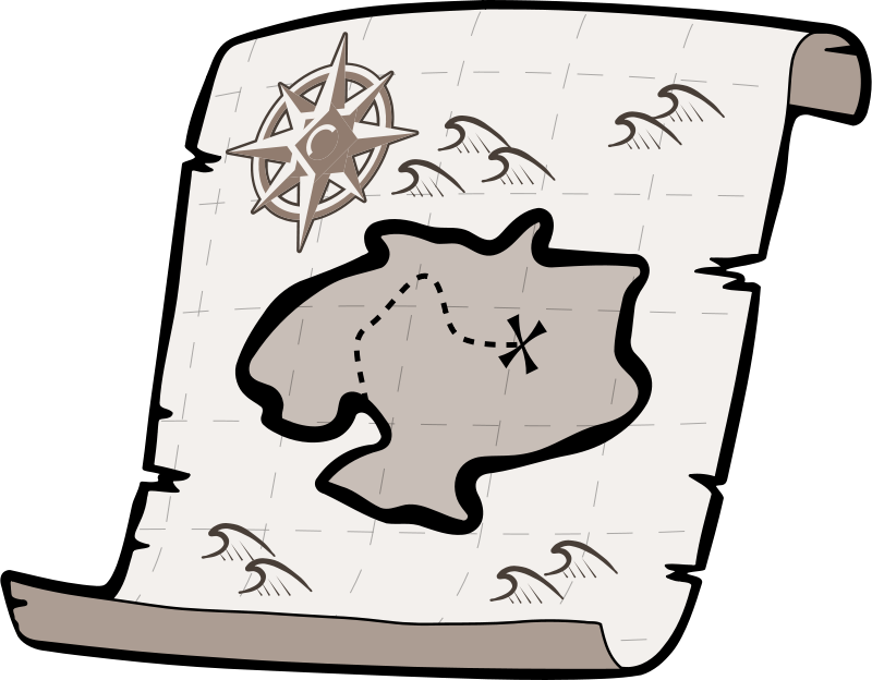 Free treasure map