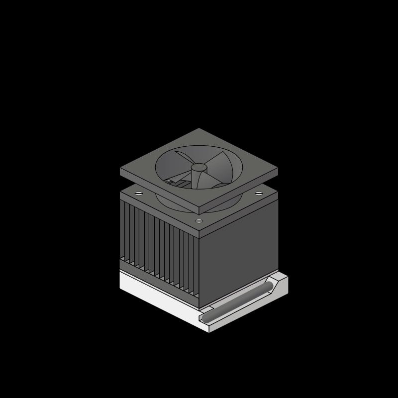 Free cpu heatsink fan socket
