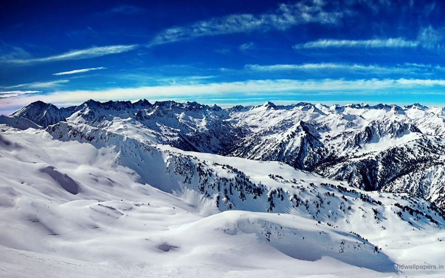 Free Wallpapers: Snowy Mountains | Nature
