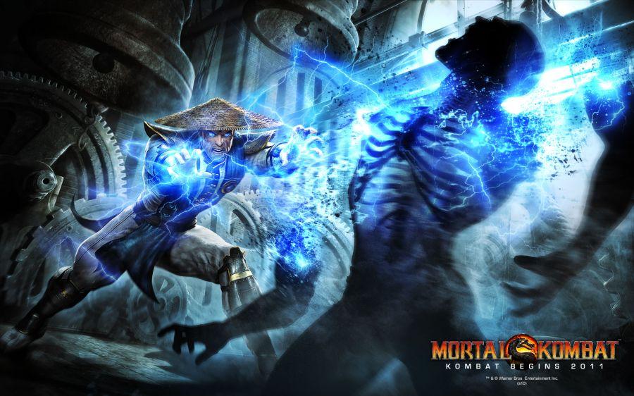 Free Wallpapers: Raiden in Mortal Kombat Begins 2011 | Games