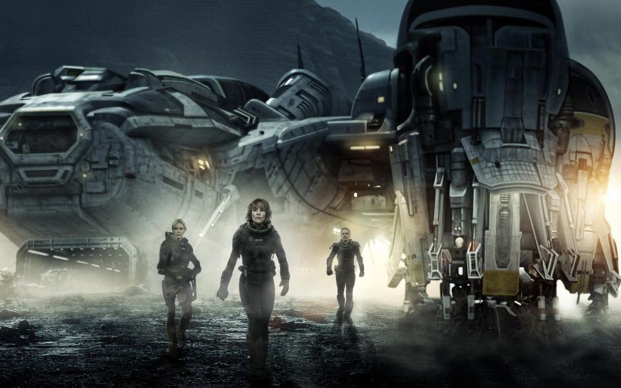 Free Wallpapers: Prometheus Cast | Movies