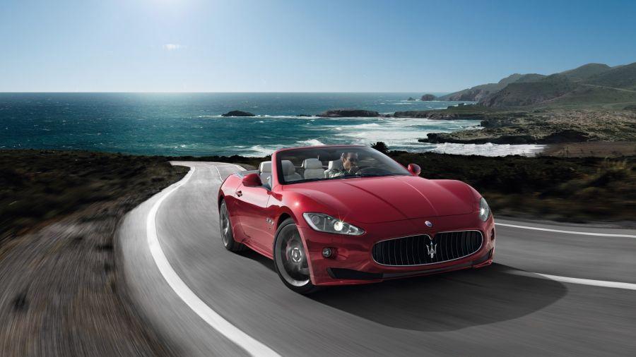 Free Wallpapers: 2012 Maserati Grancabrio Sport   Transportation
