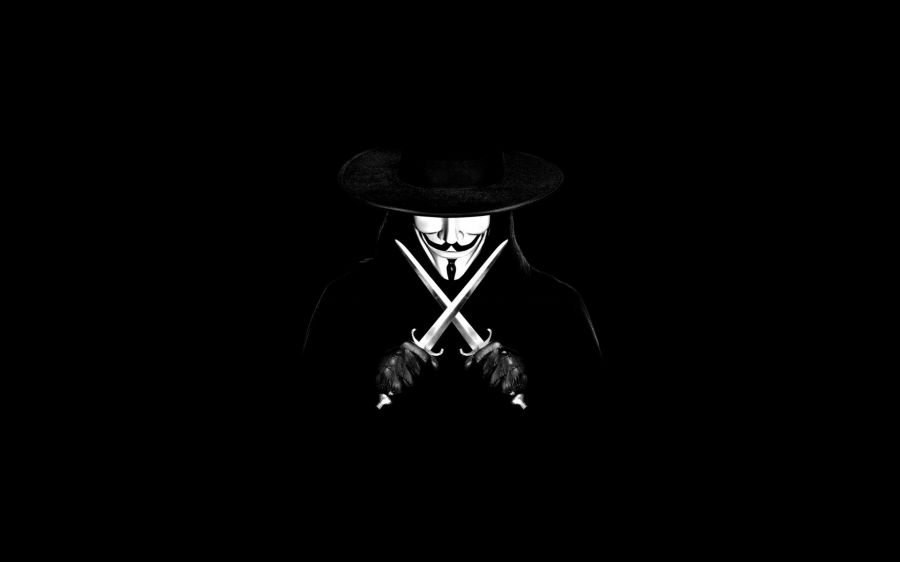 Download Wallpaper 1920x1080 Anonymous, Guy fawkes mask, Mask ...