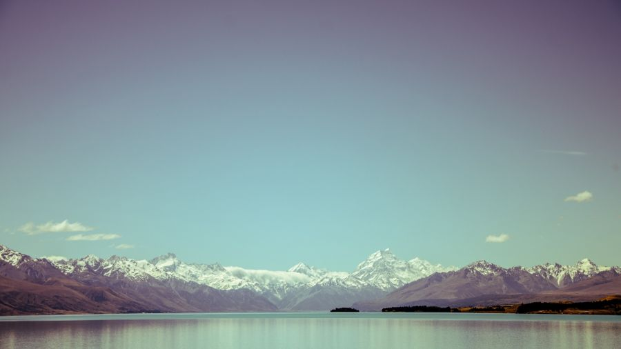 Free Wallpapers: Southern Alps in the Distance | Nature