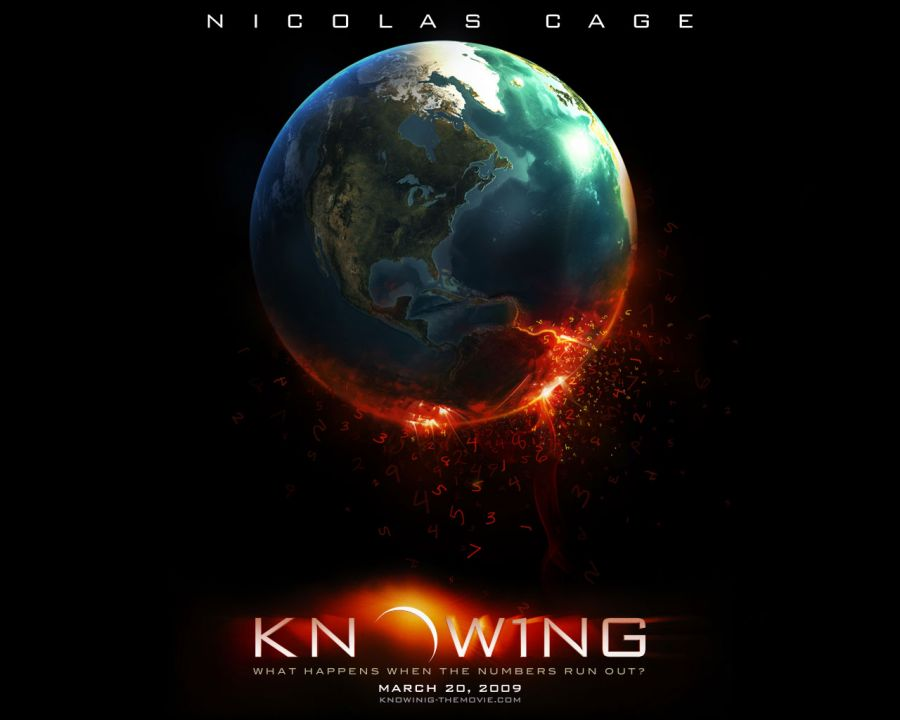 Free Wallpapers: Knowing Movie Poster | Movies
